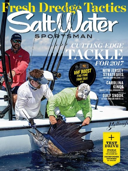 Salt Water Sportsman Cover - 10/1/2016