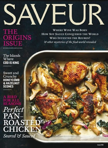 Saveur Cover - 10/1/2016