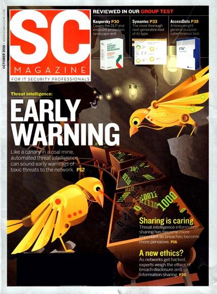 SC Magazine - U.S. edition Cover - 10/1/2016