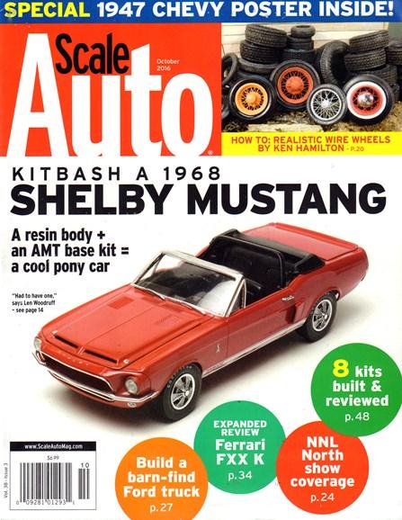 Scale Auto Magazine Cover - 10/1/2016