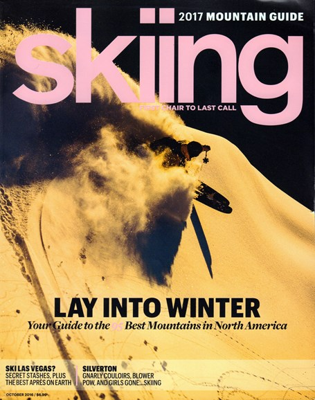 Skiing Cover - 10/1/2016
