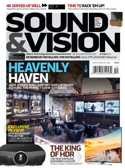 Sound & Vision Cover - 10/1/2016