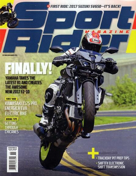 Sport Rider Cover - 10/1/2016