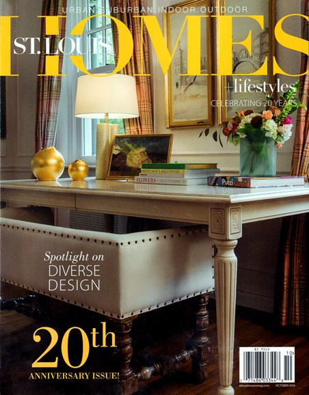 St. Louis Homes & Lifestyles Cover - 10/1/2016