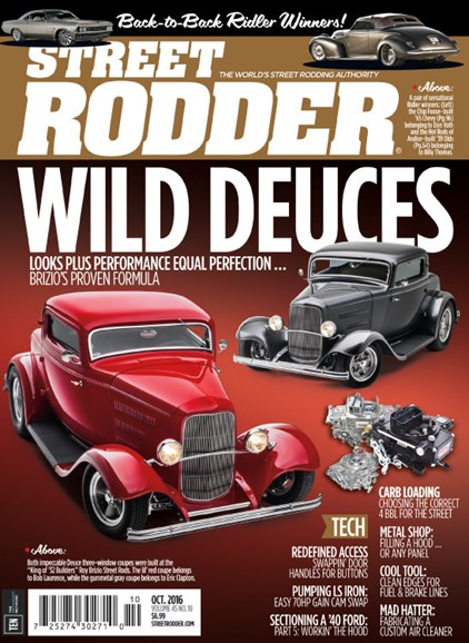 Street Rodder Cover - 10/1/2016