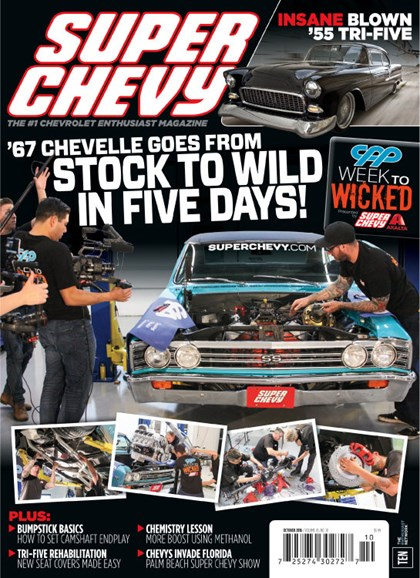 Super Chevy Cover - 10/1/2016