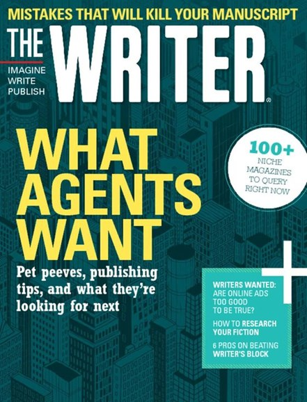 The Writer Cover - 10/1/2016