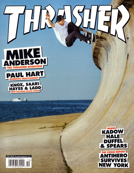 Thrasher Cover - 10/1/2016