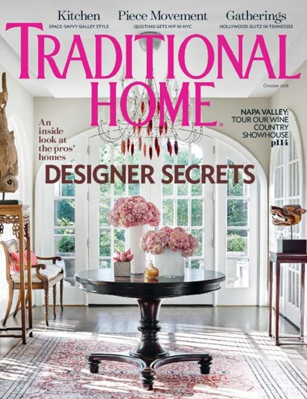 Traditional Home Cover - 10/1/2016