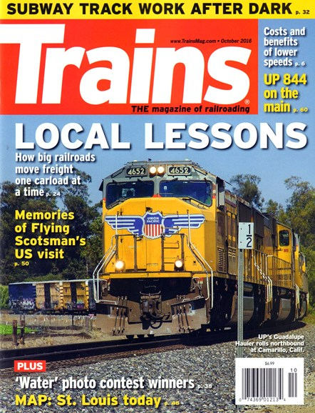Trains Cover - 10/1/2016