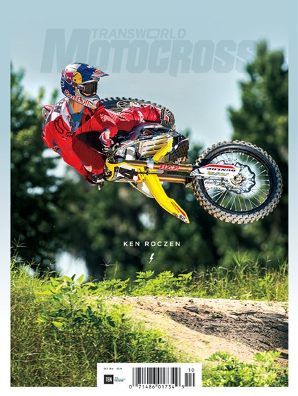 Transworld Motocross Cover - 10/1/2016