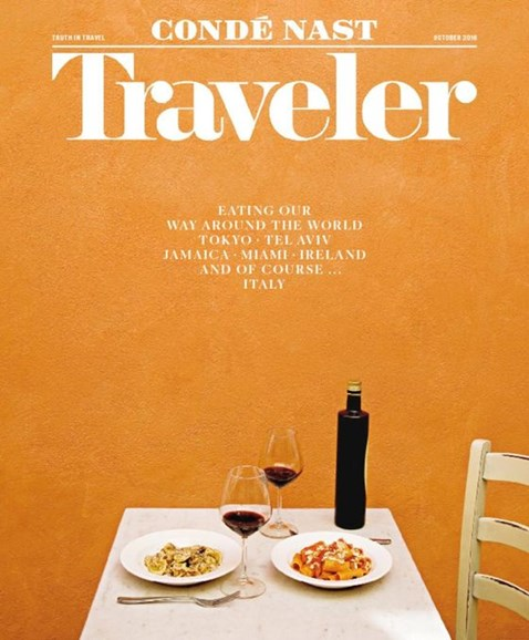 Condé Nast Traveler Cover - 10/1/2016