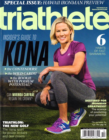 Triathlete Cover - 10/1/2016