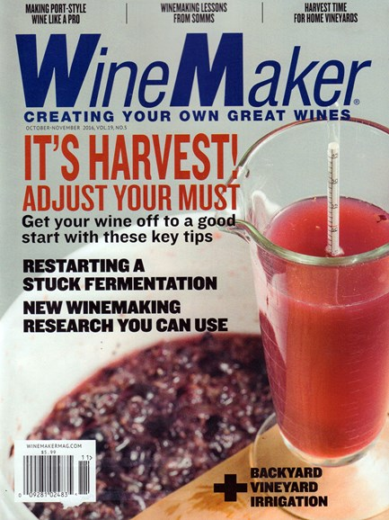 Winemaker Cover - 10/1/2016