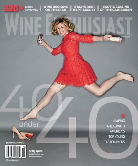 Wine Enthusiast Cover - 10/1/2016