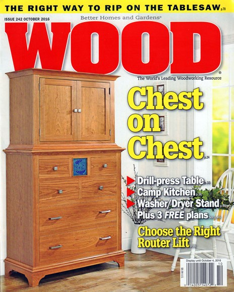 Wood Cover - 10/1/2016