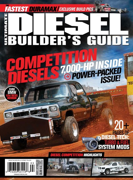Ultimate Diesel Builder's Guide Cover - 8/1/2016