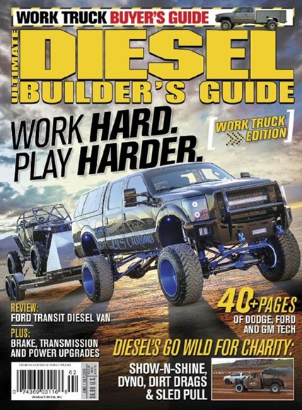 Ultimate Diesel Builder's Guide Cover - 6/1/2016