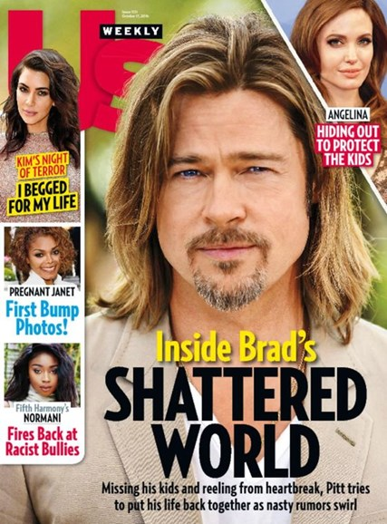 Us Weekly Cover - 10/17/2016