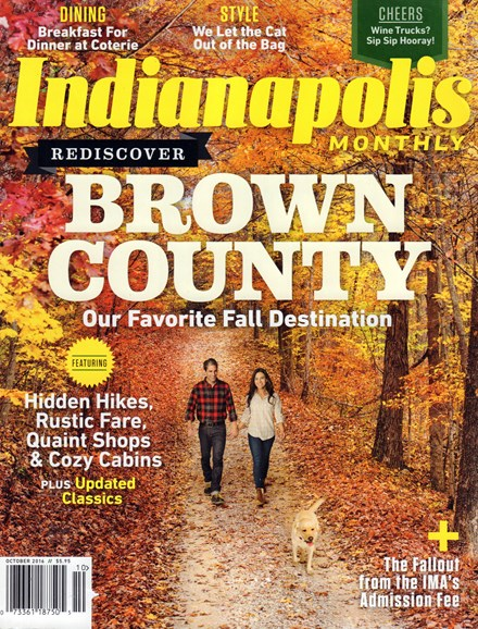 Indianapolis Monthly Cover - 10/1/2016