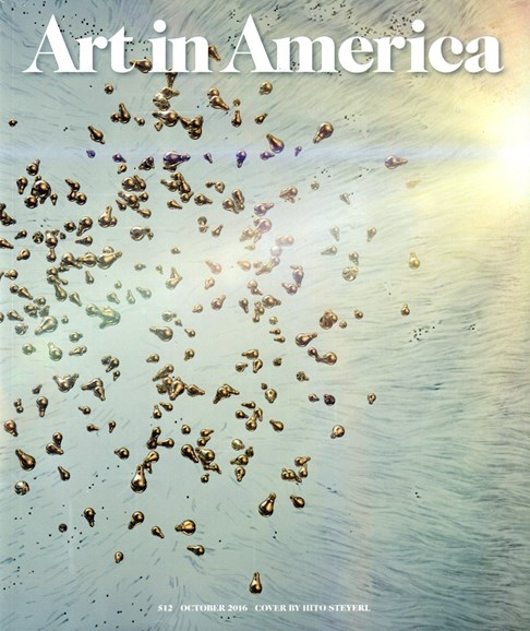 Art In America Cover - 10/1/2016