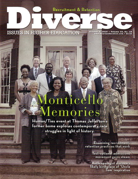 Diverse: Issues In Higher Education Cover - 10/6/2016