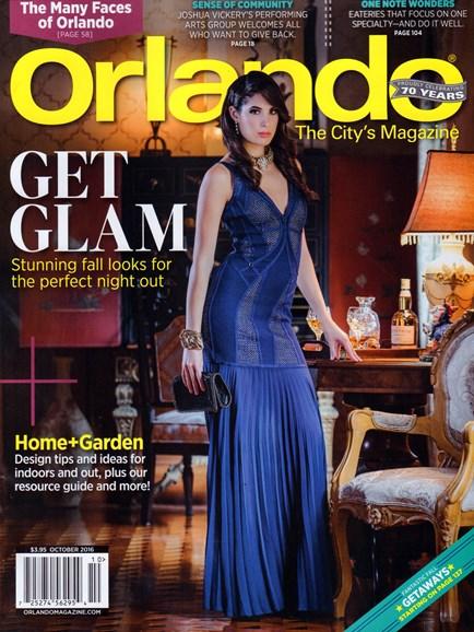 Orlando Magazine Cover - 10/1/2016