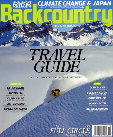 Backcountry Cover - 10/1/2016