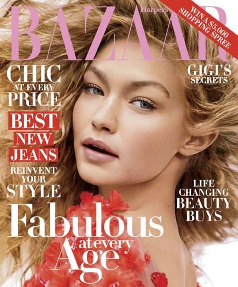Harper's Bazaar Cover - 10/1/2016
