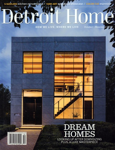 Detroit Home Cover - 10/1/2016