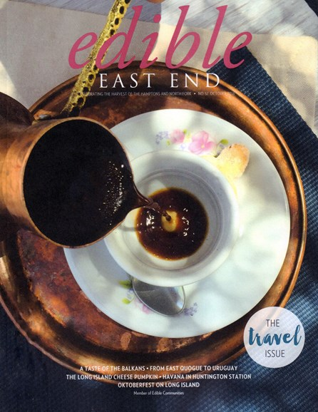 Edible East End Cover - 10/1/2016