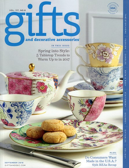 Gifts And Decorative Accessories Cover - 9/1/2016
