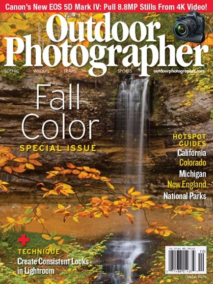 Outdoor Photographer Cover - 10/1/2016