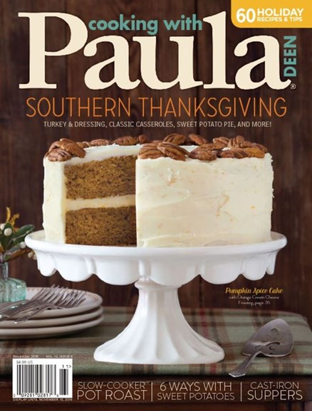 Cooking With Paula Deen Cover - 11/1/2016