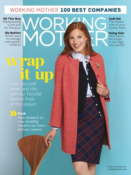 Working Mother Cover - 10/1/2016