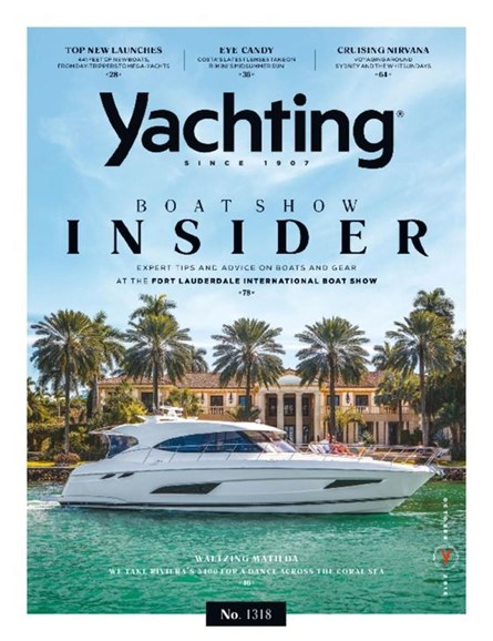 Yachting Cover - 10/1/2016