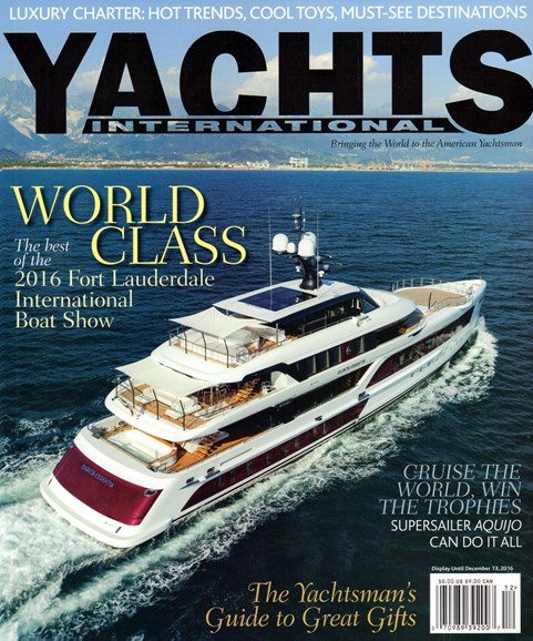Yachts International Cover - 11/1/2016