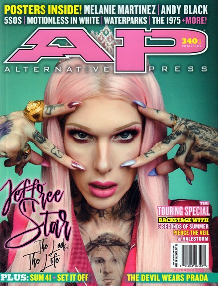 Alternative Press Cover - 11/1/2016