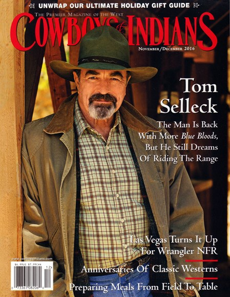 Cowboys & Indians Cover - 11/1/2016