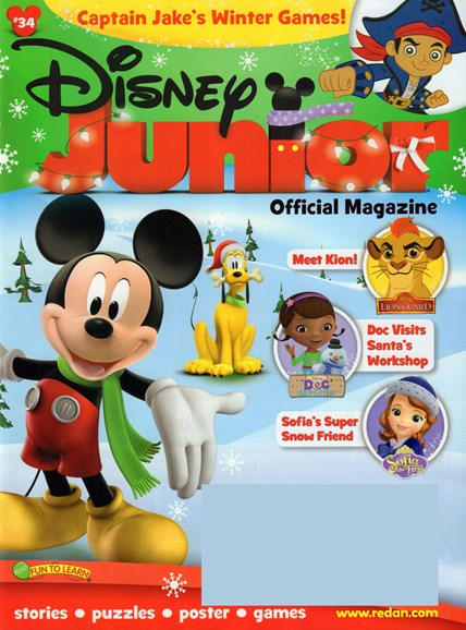 Disney Junior Cover - 11/1/2016