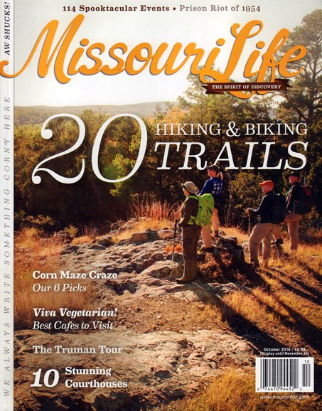 Missouri Life Cover - 10/1/2016