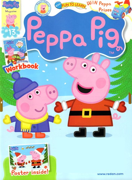 Peppa Pig Cover - 11/1/2016