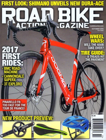 Road Bike Action Cover - 10/1/2016