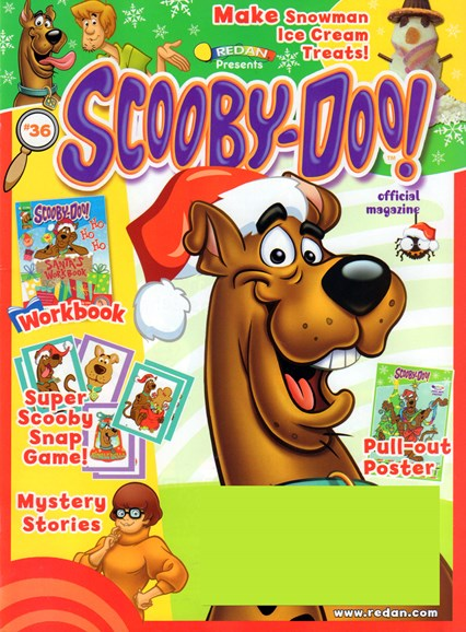 Redan Presents Scooby Doo! Cover - 11/1/2016