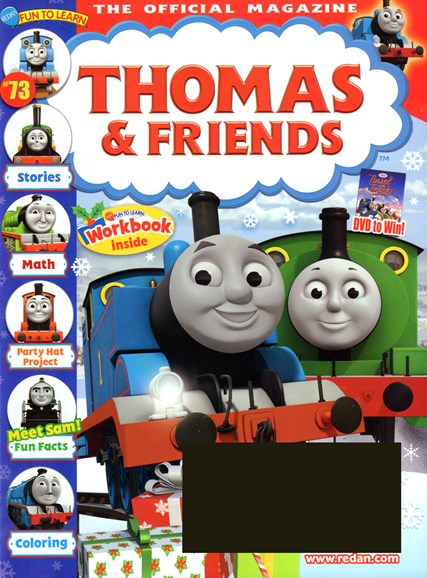 Thomas & Friends Cover - 11/1/2016