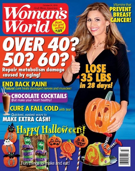 Woman's World Cover - 10/24/2016