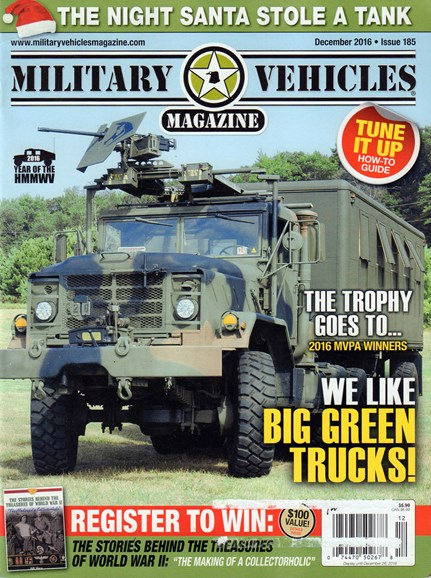 Military Vehicles Cover - 12/1/2016