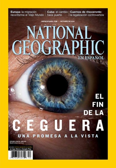 National Geographic En Español Cover - 10/1/2016