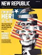 The New Republic Magazine 11/1/2016