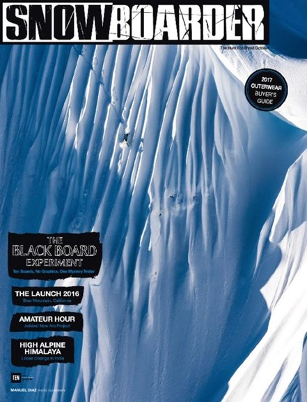 Snowboarder Cover - 10/1/2016